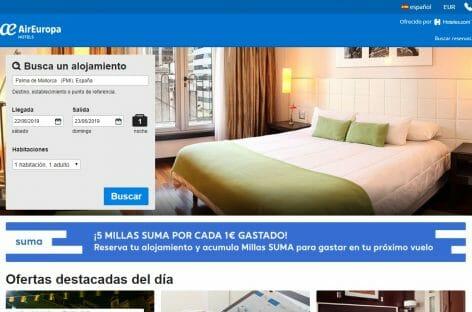 Air Europa Hotels, la nuova piattaforma in partnership con Expedia