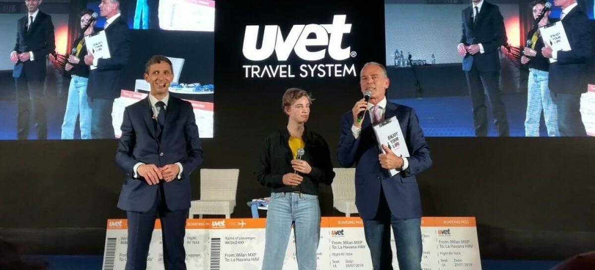 La lezione di Bebe Vio alle agenzie Uvet Travel System