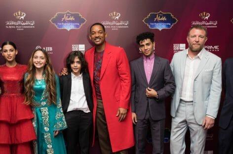 Giordania, Will Smith al remake del film Disney Aladdin