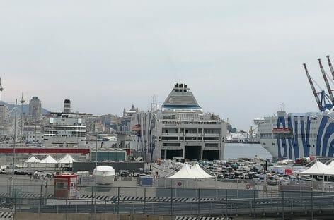 Gnv, la nave Allegra riprende la storica tratta Genova-Olbia