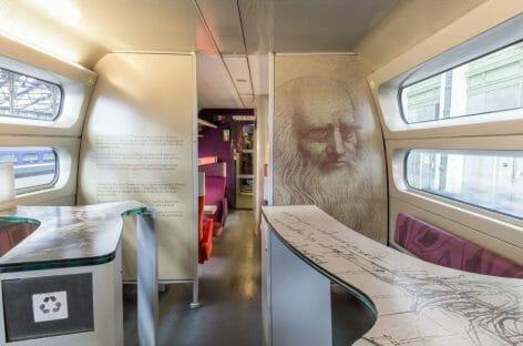 Leonardo da Vinci sul Tgv per Parigi