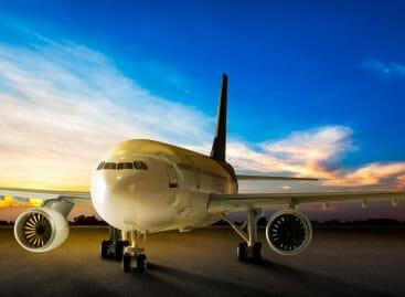 Trasporto aereo, ripresa lontana dopo la frenata di novembre