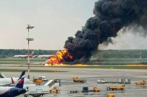 Incidente Aeroflot, 41 vittime a Mosca