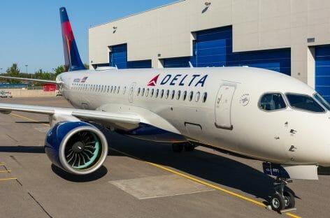 Delta, nel terzo trimestre ricavi in calo del 76%