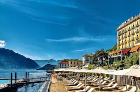 Il party sul lago per i 109 anni del Grand Hotel Tremezzo