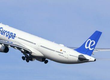 Air Europa, il 2020 inizia con Time to Fly