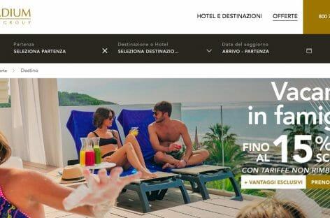 Vendere la stanza non basta: pacchetti volo+hotel sul sito Palladium