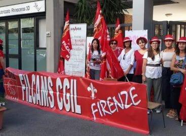 Crisi Amandatour, lavoratori in piazza
