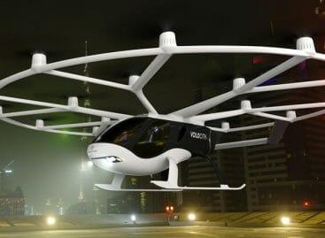 Il taxi volante è realtà: primo volo Mercedes su Stoccarda