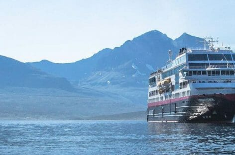 Hurtigruten lancia tre navi da crociera green
