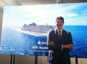 Msc Seashore, l'ora della coin ceremony – VIDEO INTERVISTA A LEONARDO MASSA
