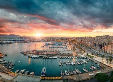 Cagliari hub della vela internazionale con Luna Rossa