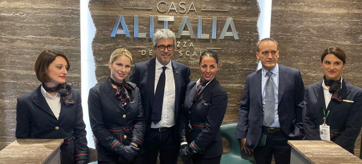 Casa Alitalia a Linate, hub della rete shuttle