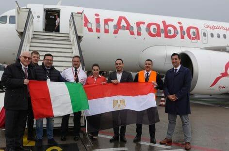 Air Arabia inaugura la rotta Milano Bergamo-Il Cairo