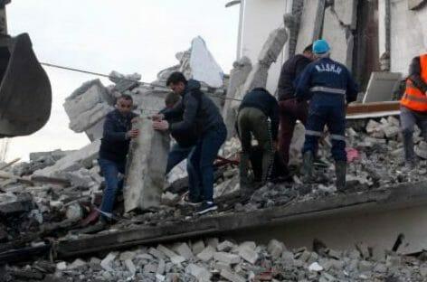 Terremoto in Albania, sale il bilancio delle vittime