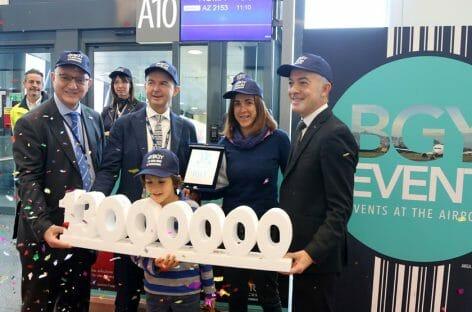 Milano Bergamo taglia il traguardo dei 13 milioni di passeggeri