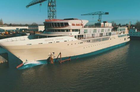 Silver Origin, varo tecnico della nave per le Galapagos