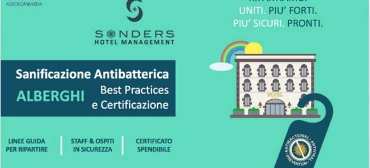 Alberghi nel post Covid: istruzioni per riaprire da Sonders Hotels