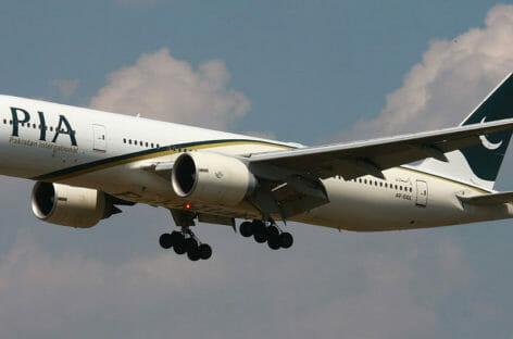 Pakistan International Airlines, stop ai voli in Europa per sei mesi