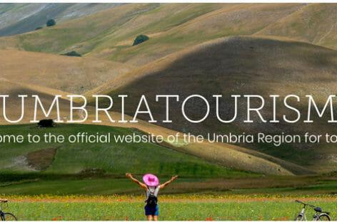 L'Umbria riparte con spot in tv e restyling del portale