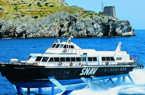 Snav partner di Trenitalia per raggiungere le isole