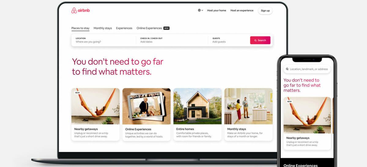 Go Near, così Airbnb promuove il turismo domestico