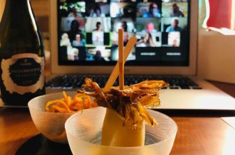 Cronaca di un aperitivo virtuale con Skal Roma