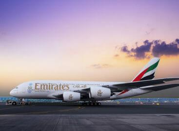 Emirates riprende a volare in Cina a Guangzhou con l'A380