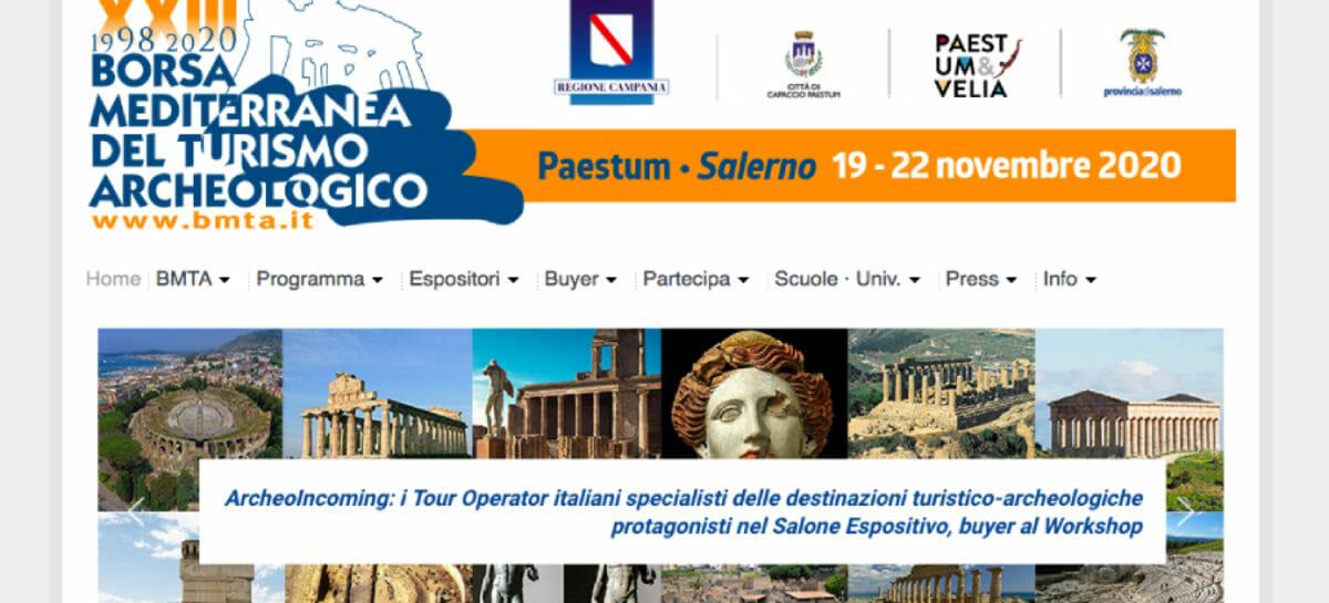 La Borsa Mediterranea del Turismo Archeologico svela il programma 2020