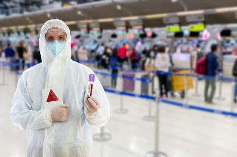 La sfida degli aeroporti nell'era social distancing
