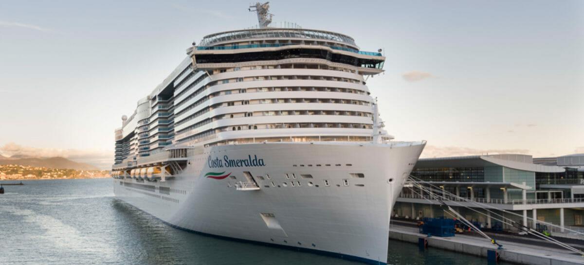 Costa Smeralda riparte il 10 ottobre per crociere italiane