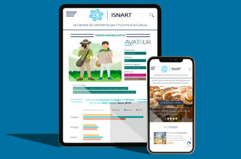 Isnart, nel nuovo sito spazio agli smart data per studiare le Tribù del turismo