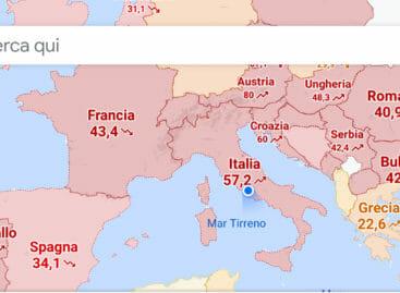 Mappa mondiale del Covid: <br>così Google spiazza tutti