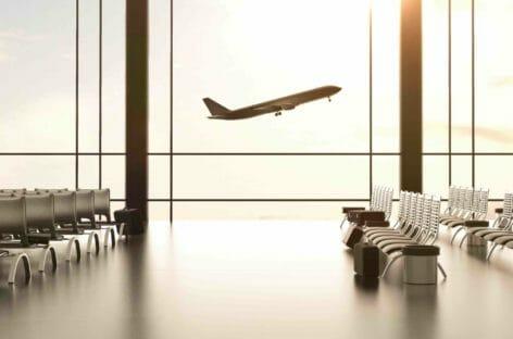Aeroporti italiani, passeggeri al -87% nel primo quadrimestre