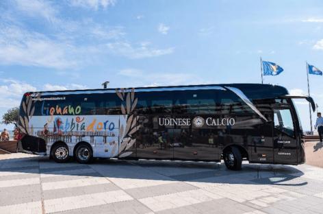 L'Udinese Calcio ambassador della costa del Friuli Venezia Giulia