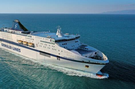Sardegna, Grimaldi Lines vettore ufficiale di Chica Loca 2021