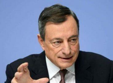 La parola di Draghi: <br>«Investire nel turismo»