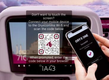 Qatar Airways, ora l'intrattenimento a bordo è 100% touch free