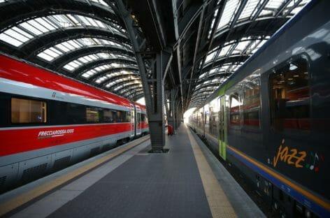 Ferrovie dello Stato e Trenitalia nella top ten delle aziende per notorietà