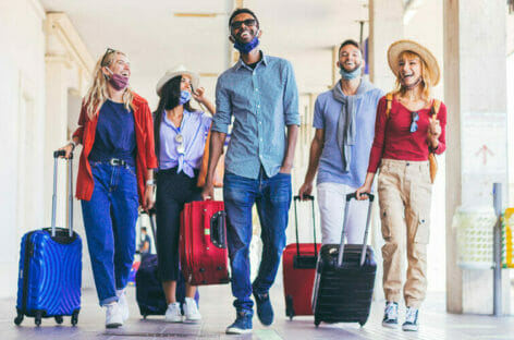 Lezione di outgoing dagli spagnoli viaggianti