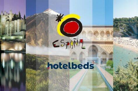 Hotelbeds, accordo per la promozione di Turespaña
