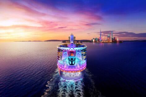 Rccl, le crociere 2022 di Wonder of the Seas in Oriente