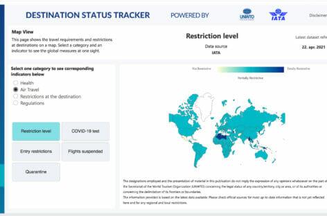 Destination Tracker, la mappa anti Covid per la ripresa dei viaggi