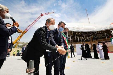 Expo Dubai, inaugurato il Padiglione Italia: GUARDA LE FOTO