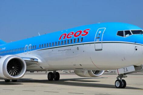Neos amplia la flotta con due 737 Max di Boeing