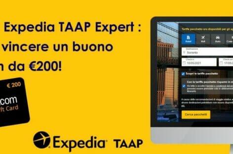 Online il quiz finale per diventare Expedia TAAP Expert