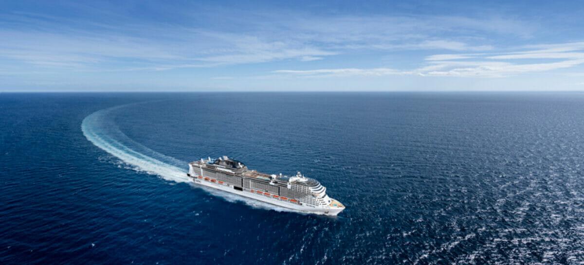 Msc Virtuosa salpa il 20 maggio nel Regno Unito