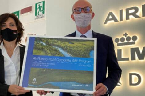 Air France-Klm sigla un accordo con Epta per lo sviluppo del biocarburante