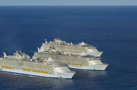 Royal Caribbean, flotta al completo dalla primavera 2022