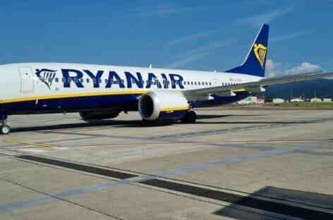 A Bergamo debutta il B737-8200 di Ryanair